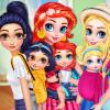 Princesses Baby Wearing Fun