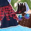 Elsa And Moana Biker Boots