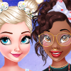 Princesses Bow Hairstyles